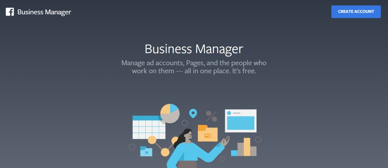 facebook business manager setup image