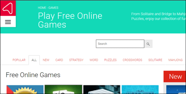 websites for free games to play online