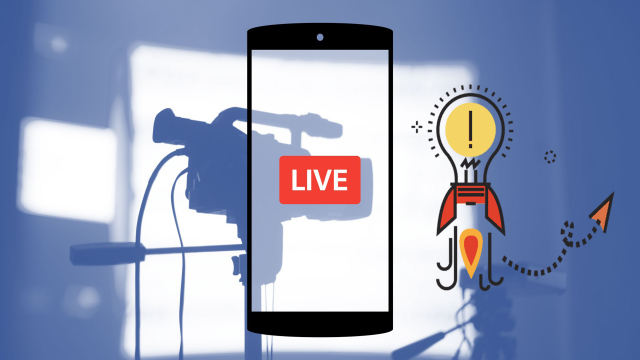 Facebook Live topic ideas for marketers & content creators featured Image
