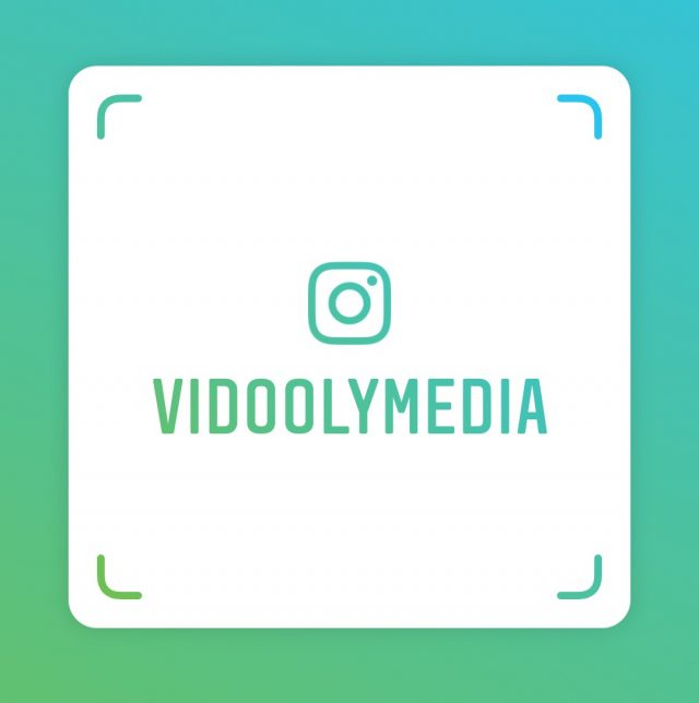 Vidooly Media Instagram Nametag