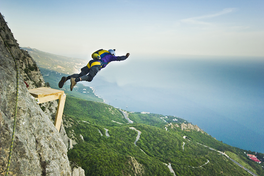 base jumping Popular Extreme Sports YouTube Channels for all Adventure & Sports lovers