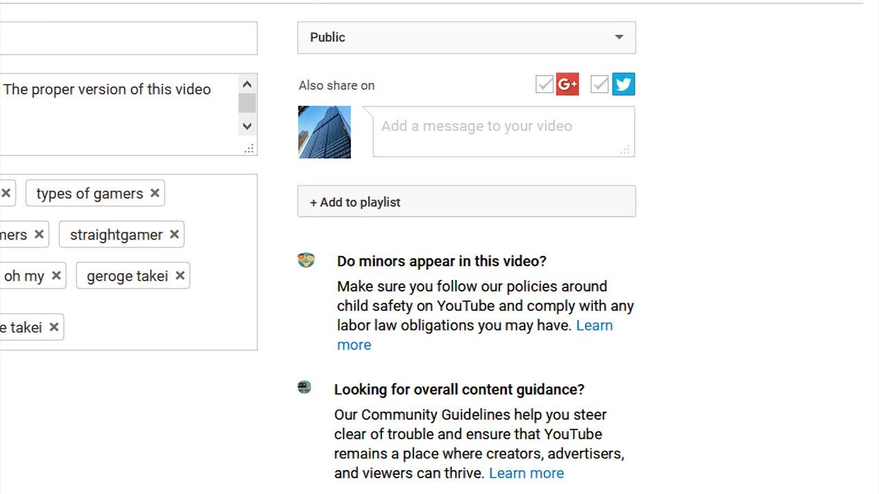 child safety on YouTube