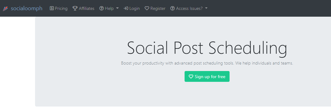 socialoomph tool for How to Schedule Tweets on Twitter