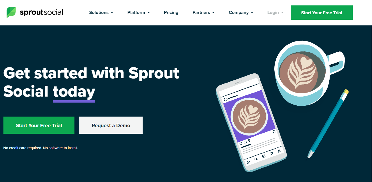 sproutsocial for scheduling Instagram post