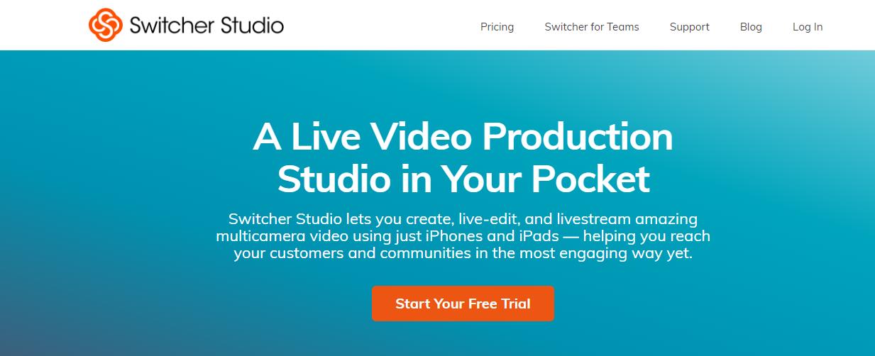 switcherstudio LinkedIn Live Streaming tool