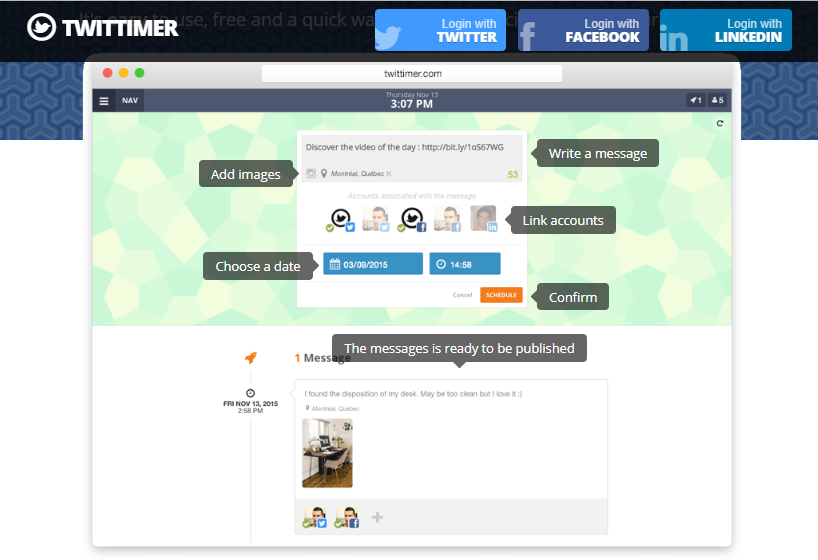 twittimer tool for How to Schedule Tweets on Twitter