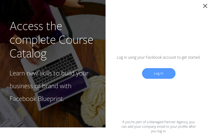 facebook course catalog