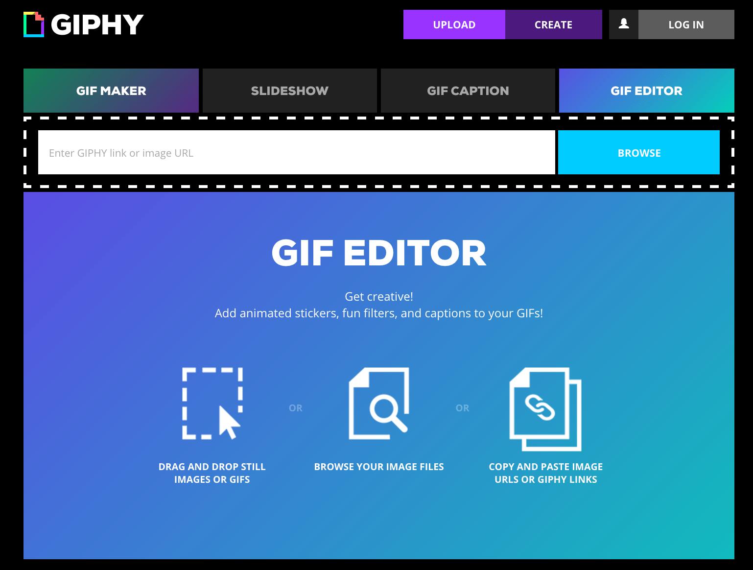 how to make GIF