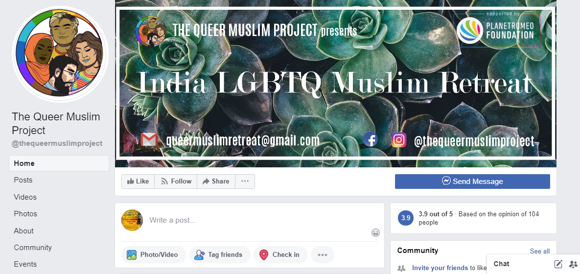best LGBTQ Facebook pages