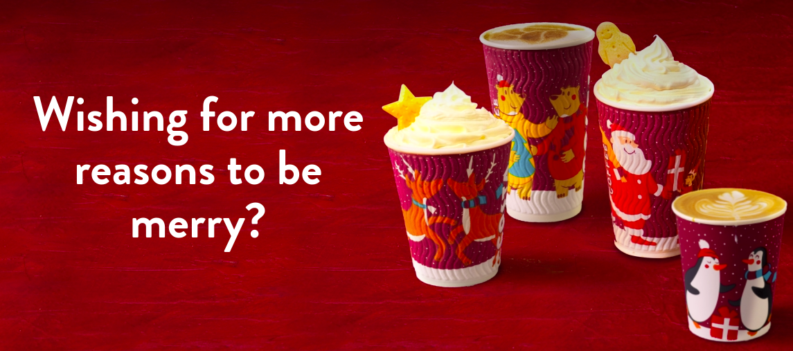 Costacoffee Christmas season campaign