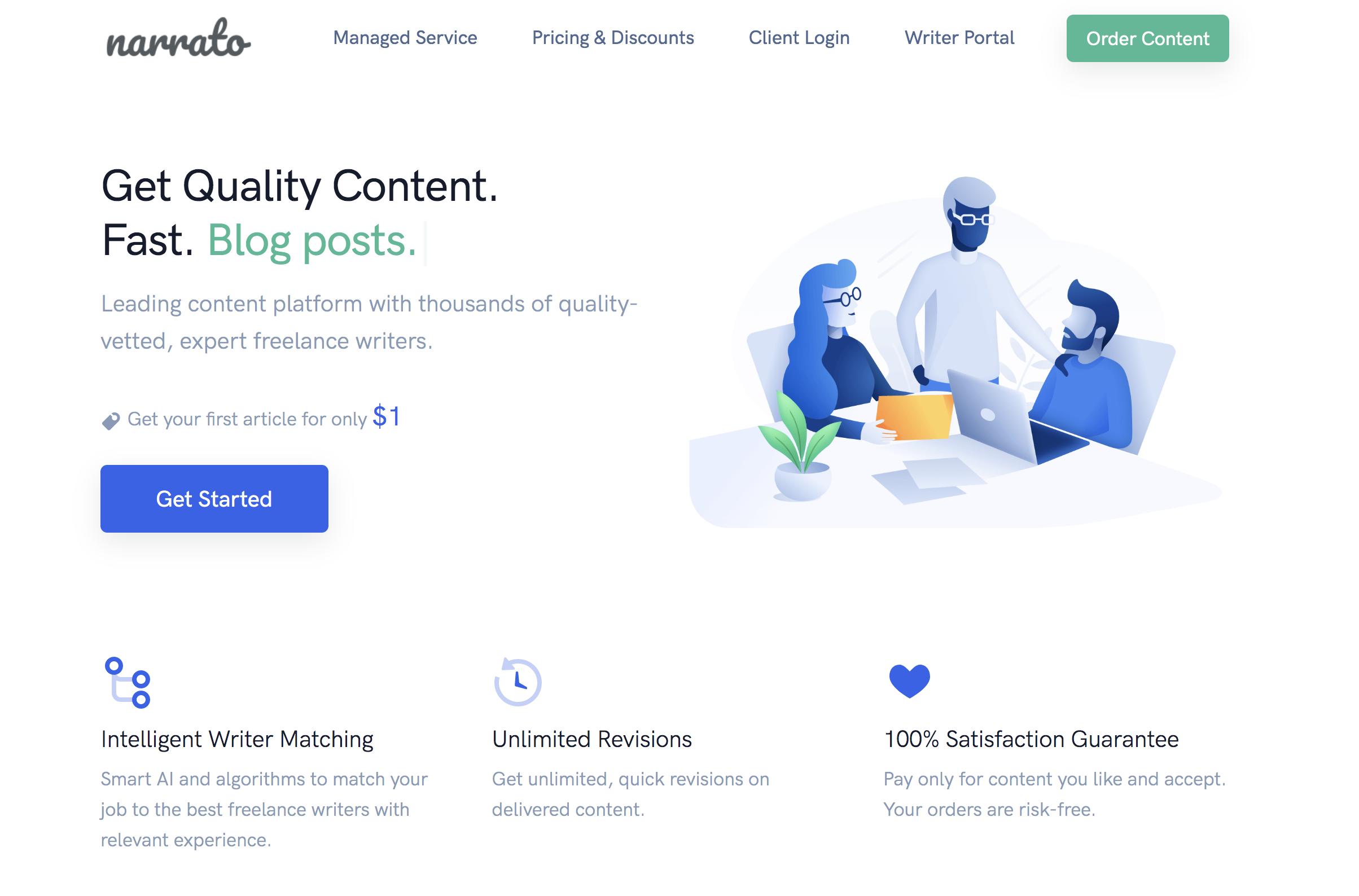 Narrato - Content Marketing Tool
