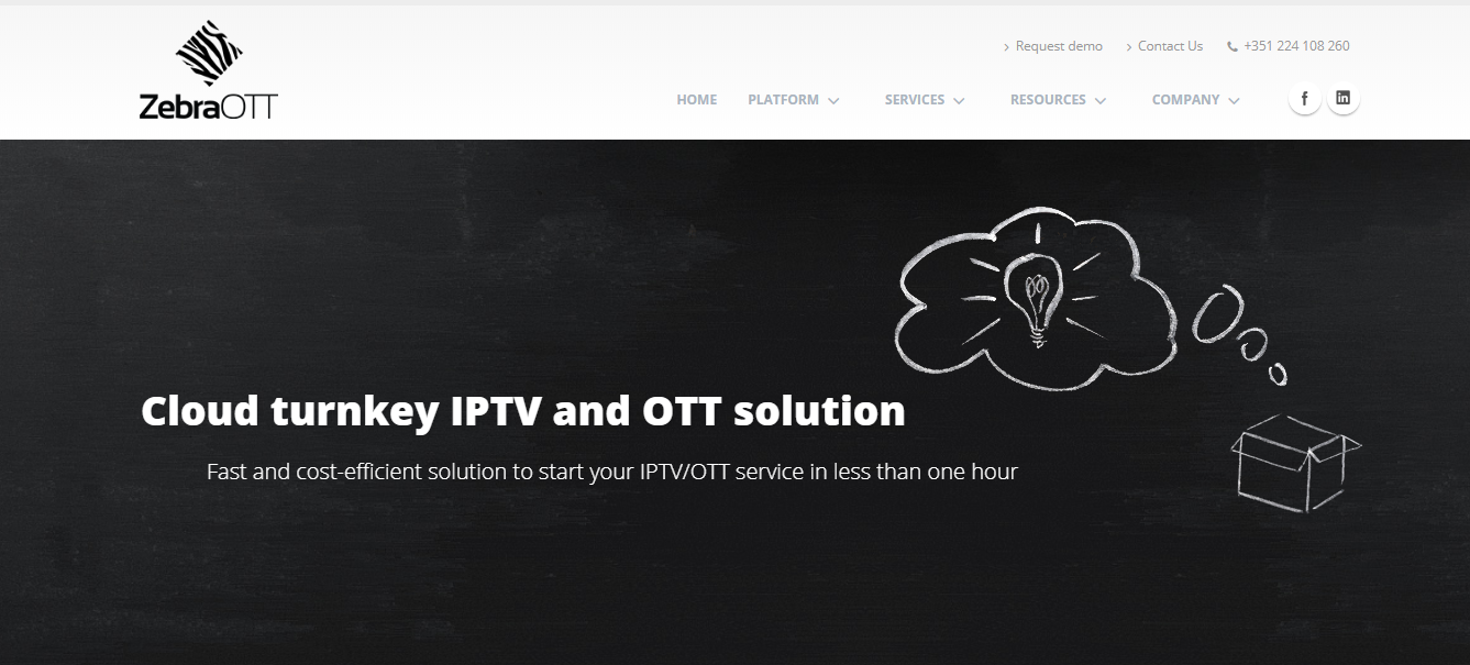 OTT software to launch video app