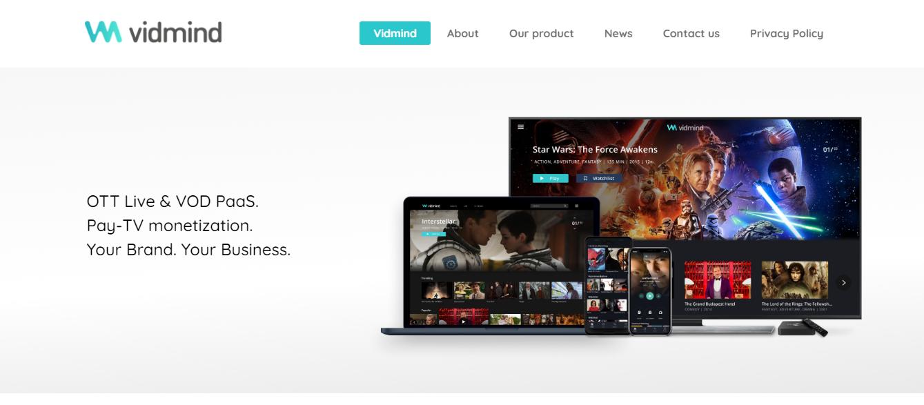 OTT software to launch video app