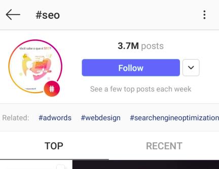 hashtag seo