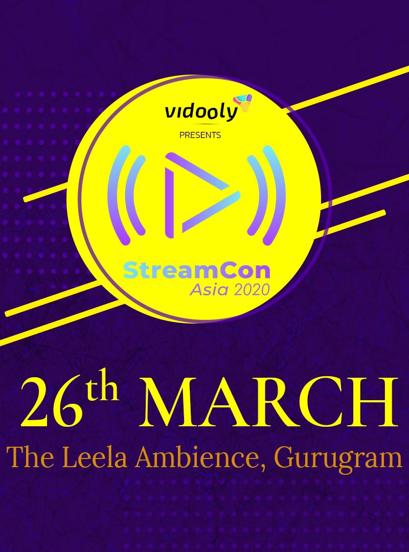 StreamCon Asia 2020: A Premiere Summit on Digital Streaming