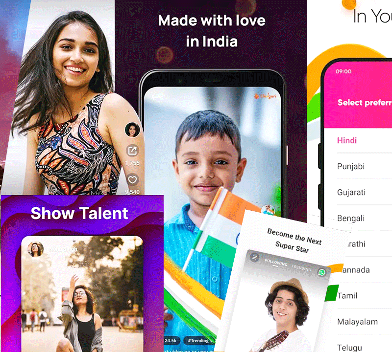 8 Best TikTok Alternative Applications in India for Content Creators