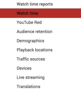 how to use YouTube analytics