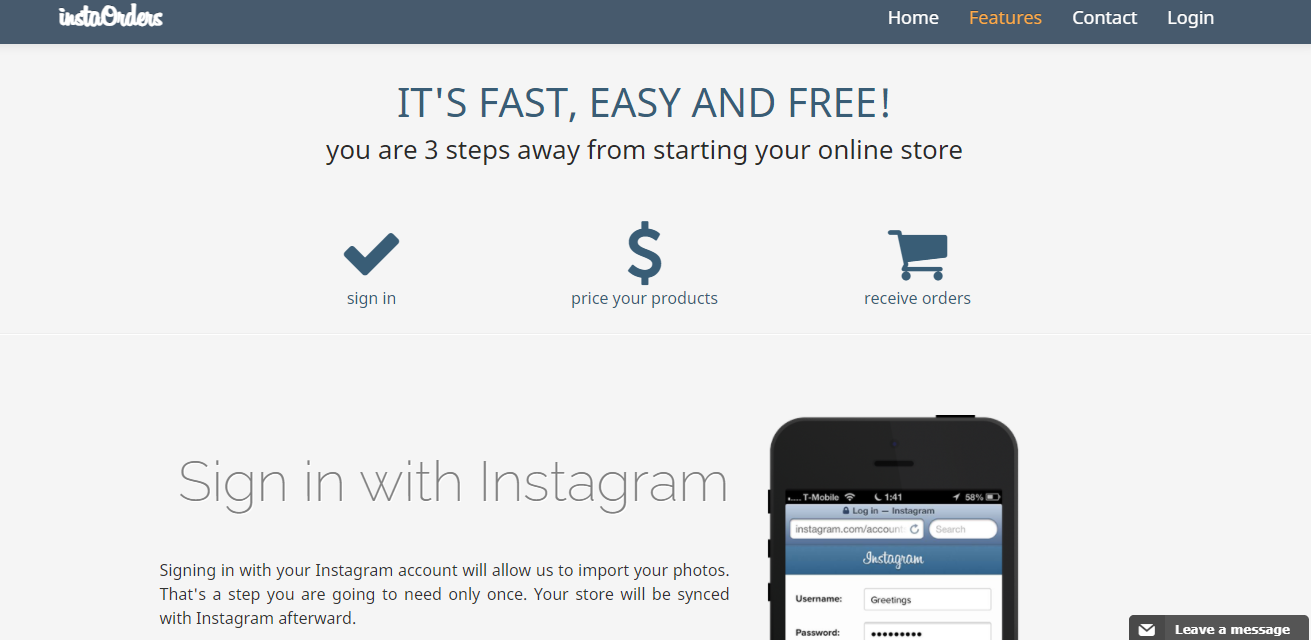 best tools to sell on Instagram