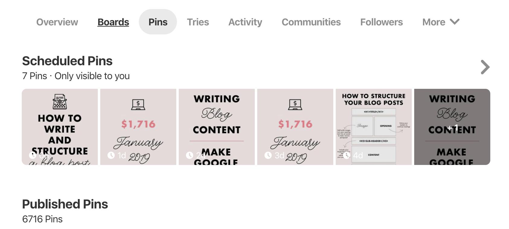 Pinterest Scheduler to Post Pins