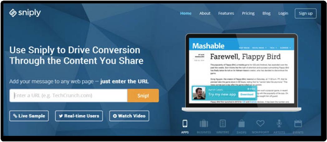 URL shorteners for social media marketing