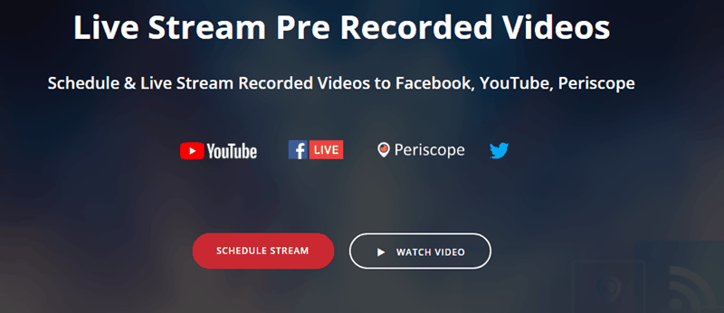 live streaming software for YouTube
