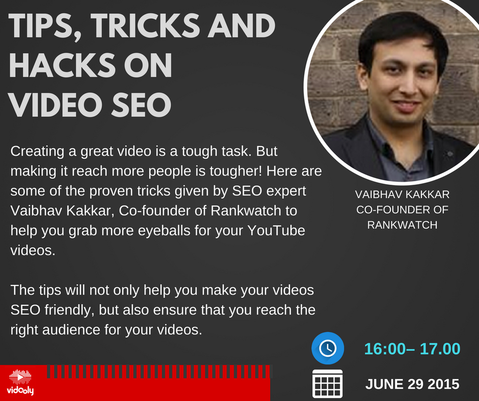 Tips, Tricks and Hacks on video seo